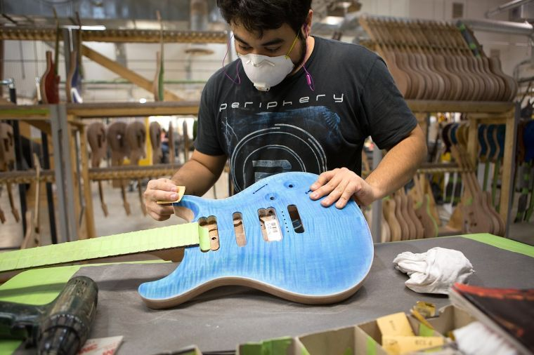 prs guitars offering factory