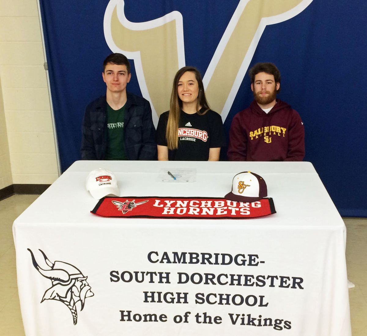 C-Sd Athletes Sign National Letters Of Intent