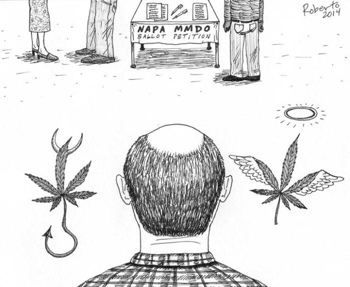 Editorial Cartoon: Whither medical marijuana?