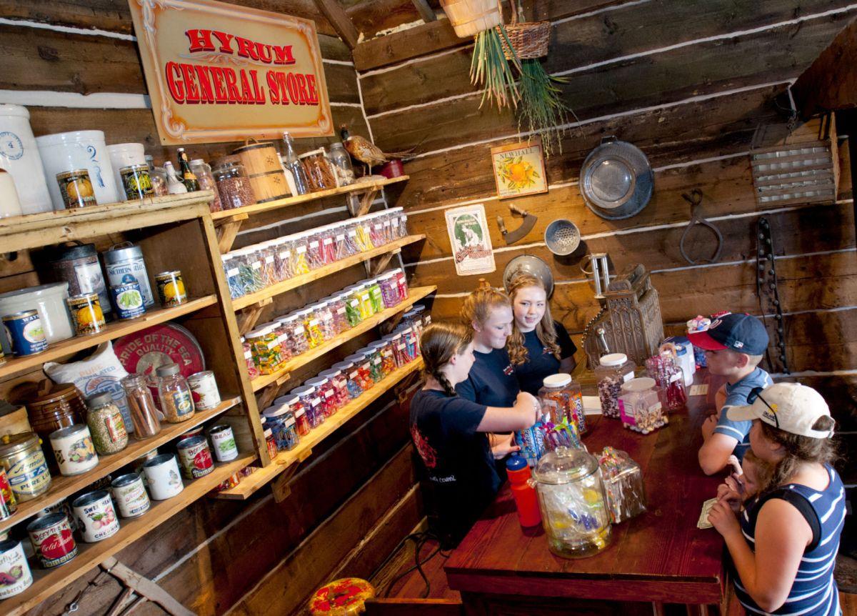 Cabin Candy Store Brings Vintage Treats Hyrum