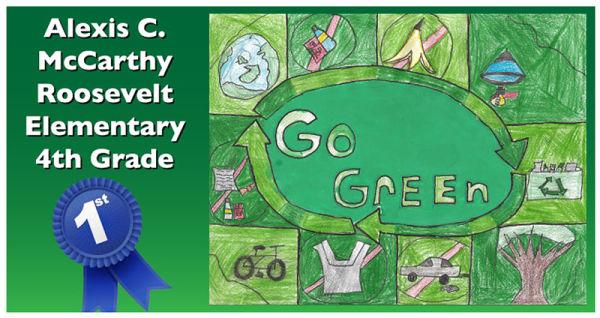 Go Green Poster Contest Winners Announced Local News Nonpareilonline Com