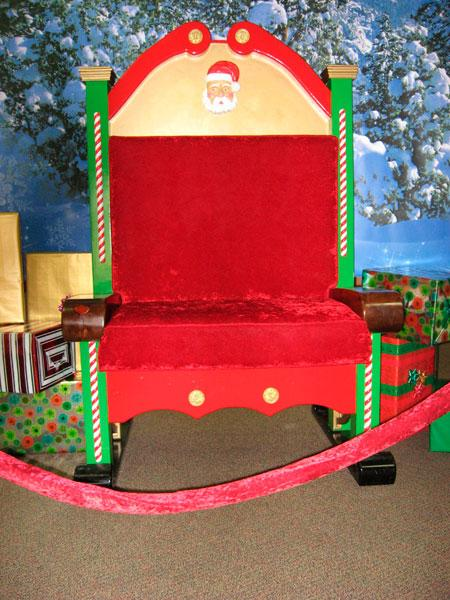 A pictureperfect Santa chair  Local News  nwitimescom