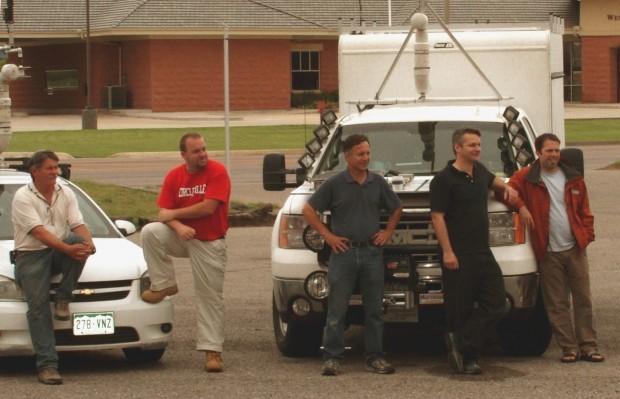 Tim Samaras Truck After Tornado