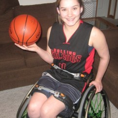 Wheelchair Killer Ashley Furniture Accent Chair Zoey Voris Named Mvp At Midwest Conference Championships 14 Of Hobart Has Emerged As One The Stars For Rolling Falcons Basketball Team