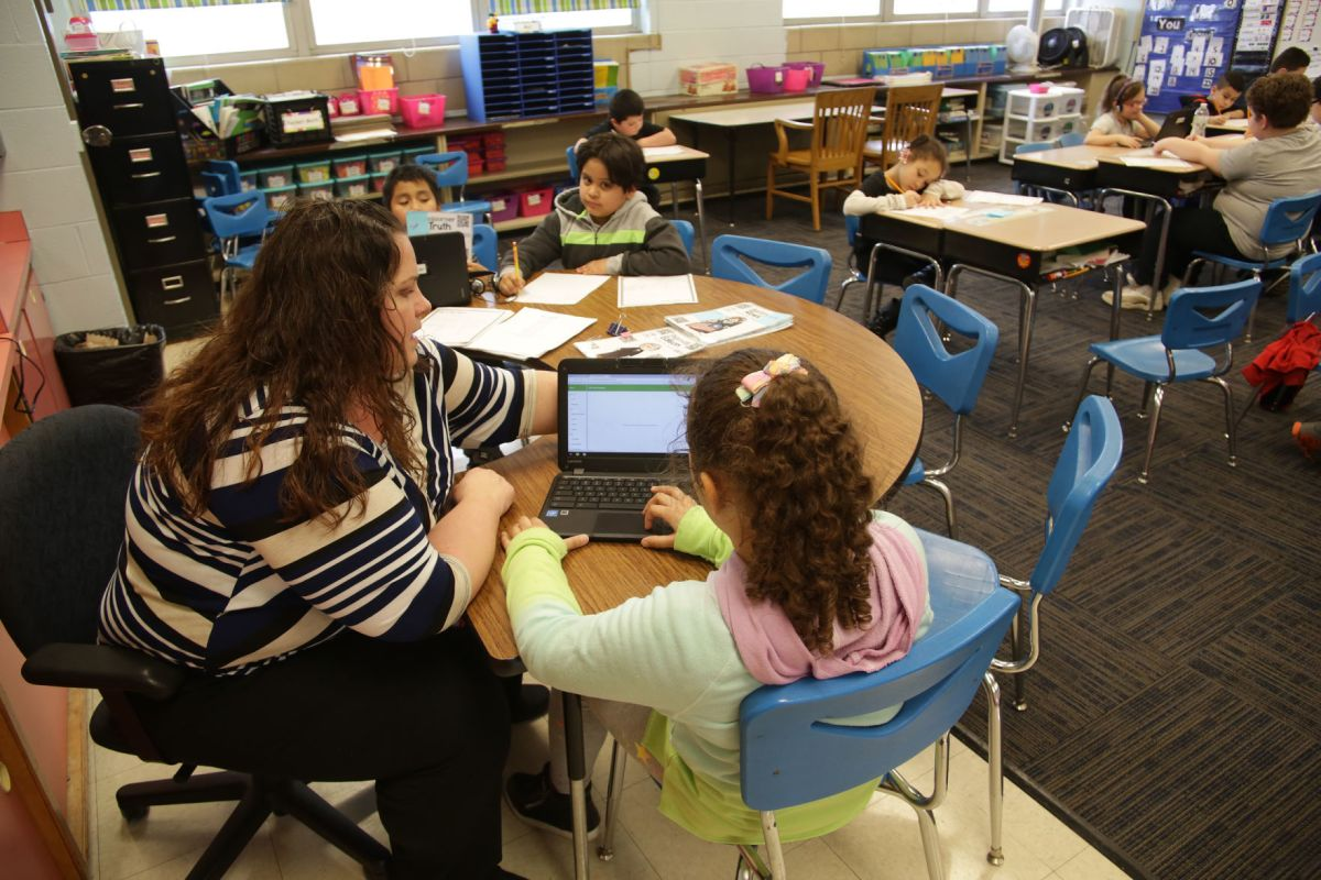Teacher Pay In Indiana Continues Downward Slide