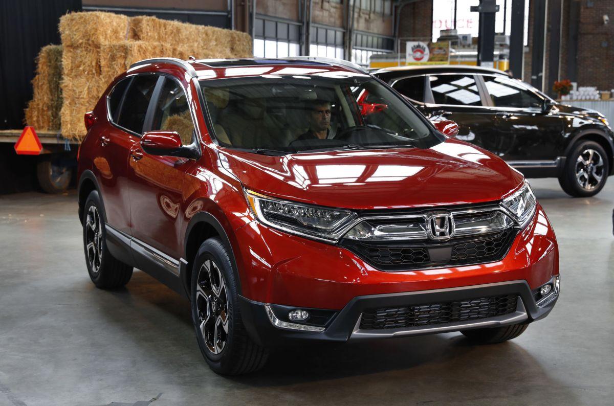 The new family car Honda revamps small SUV  Cars