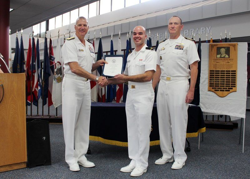 Pella native prepares to serve as navy civil engineer