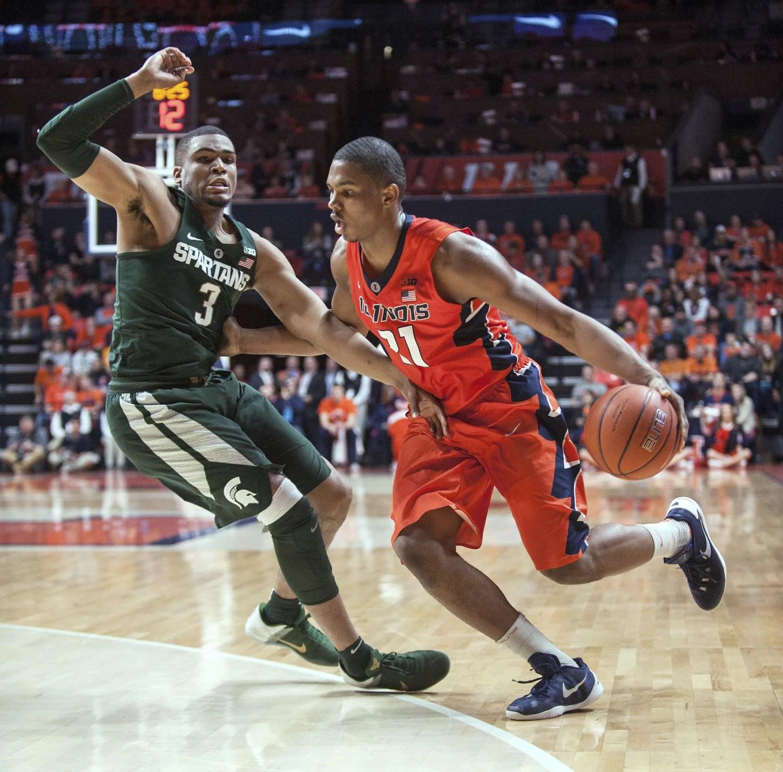 Michgan St Illinois Basketball