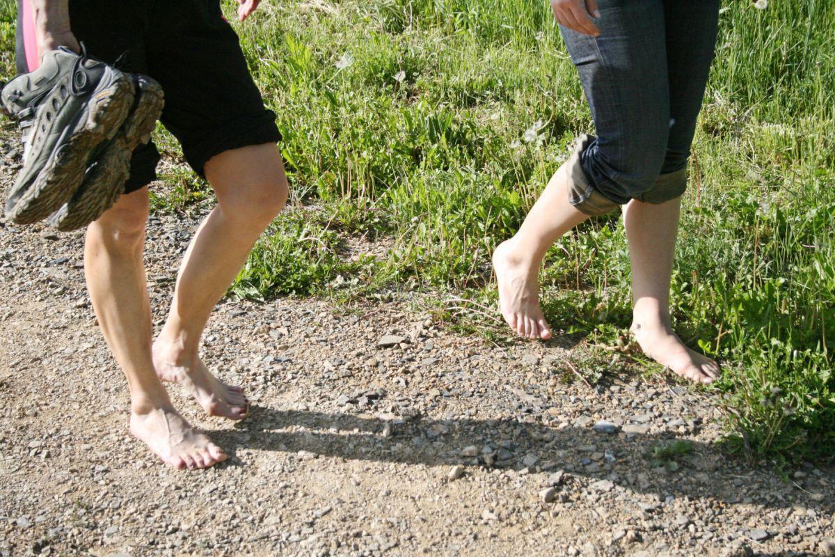 Walking On Outside of Foot