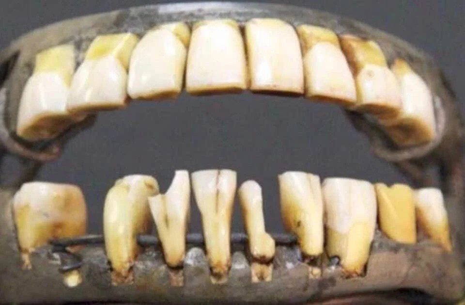 George Washington Wooden Teeth