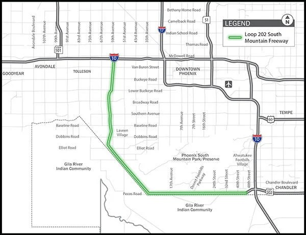 Injunction to stop construction on South Mountain freeway