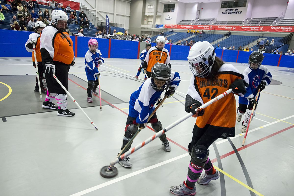 Special Olympics floor hockey volleyball tournaments in Galloway  Photo Galleries