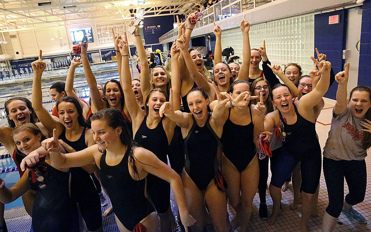 Ocean City Girls Swim Team Wins Third Straight South