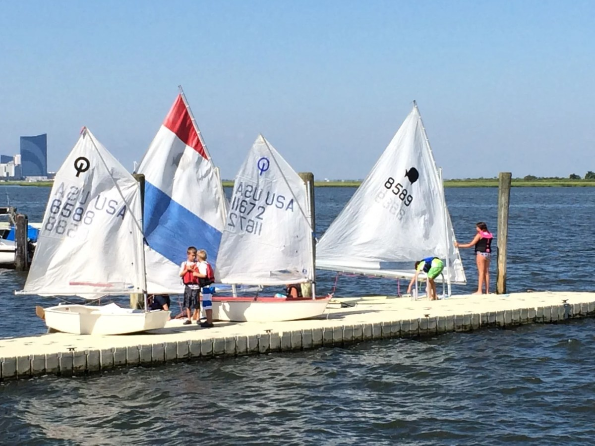 Youth Sailing Sticks With Summer Boaters In South Jersey