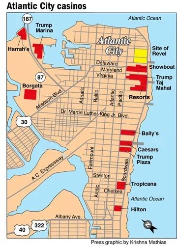 Map Of Atlantic City Casino : atlantic, casino, Atlantic, Casinos, Maping, Resources