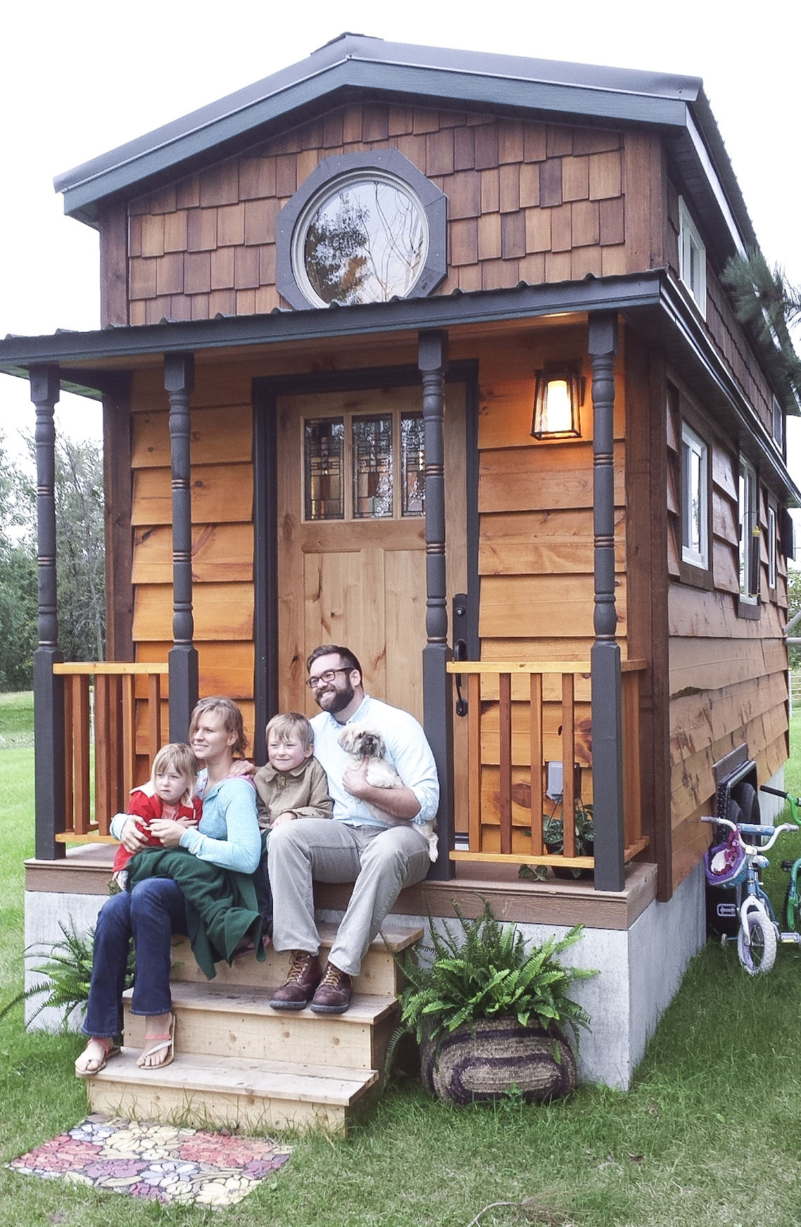 Family S Tiny House Earns Tv Feature Your Local Online