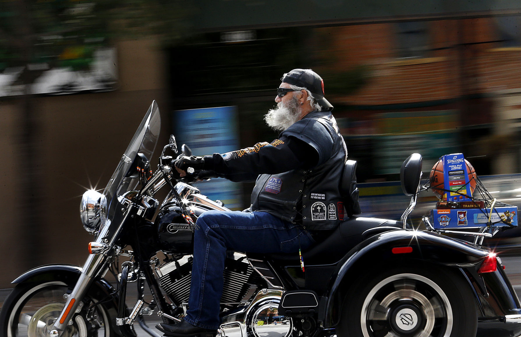 Hundreds Of Motorcycles Take To The Streets For Toys For