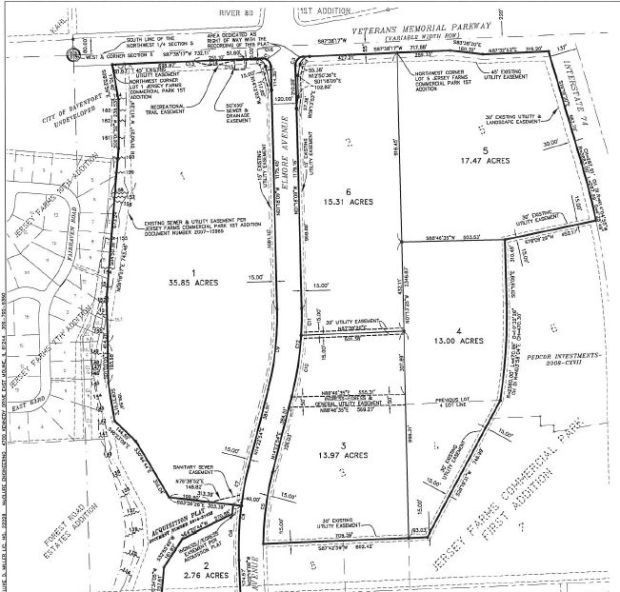 More land sold at future Elmore Ave.; owner wants big box