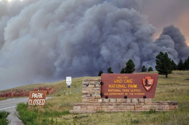 Myrtle Fire Grows As Fires Force Evacuations On Rosebud