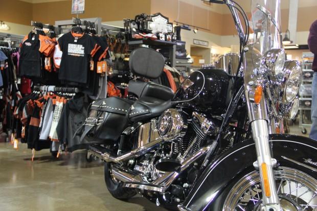 Harley Davidson Softail 2012 Picture by Aaron Orlowski