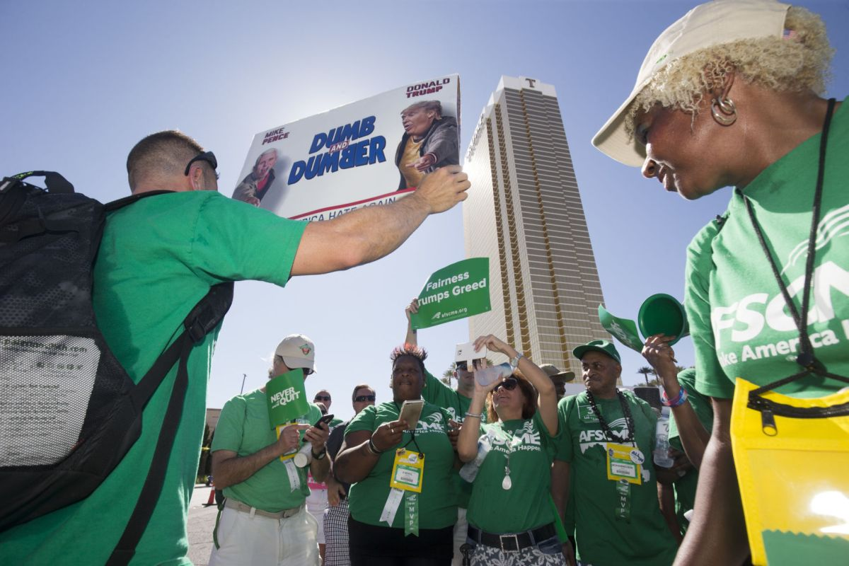 Trump Hotel Reaches Union Contract With Workers In Las