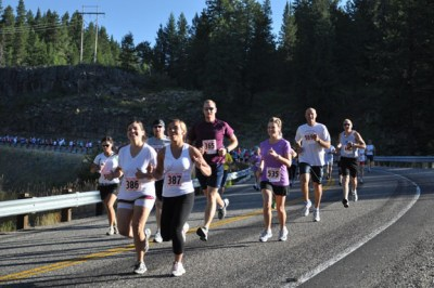Runners take on the Mesa Falls Marathon  News