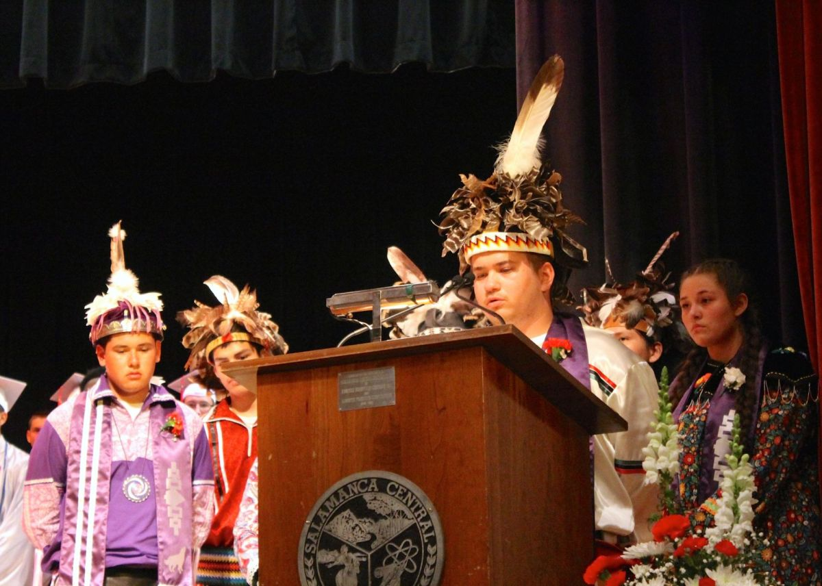 Native American Graduation Regalia