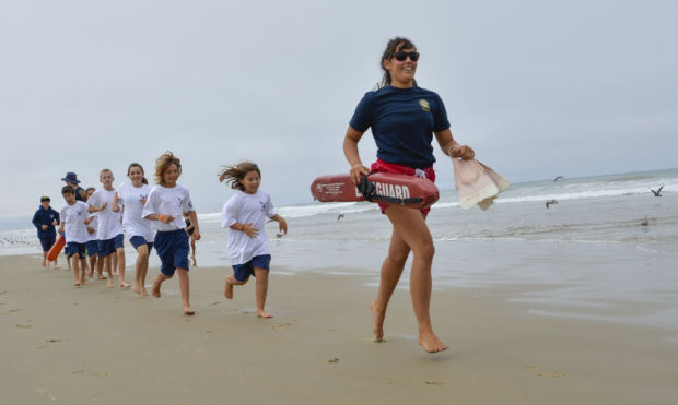 Junior lifeguards learning the ropes  Local