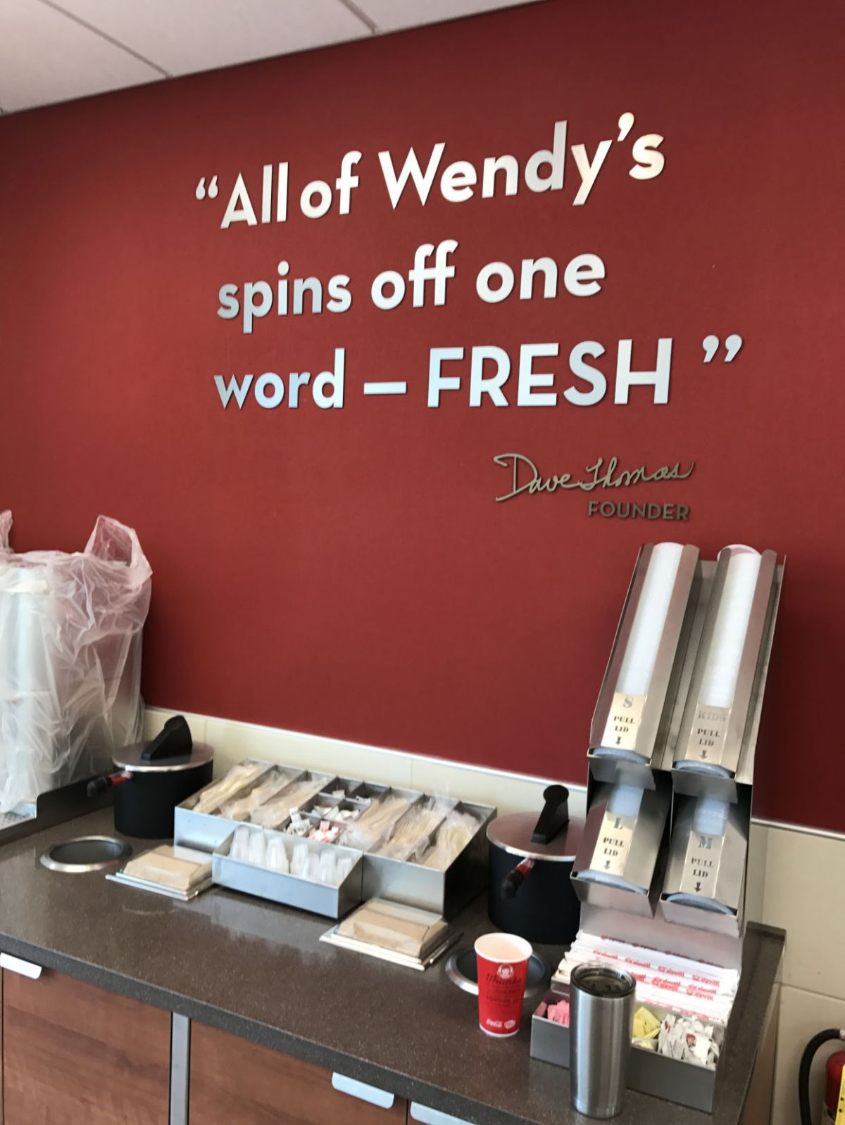 revamped wendy s reopens