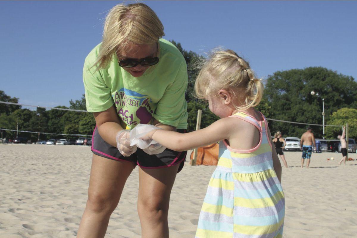 Big Turnout Beach Cleanup Local