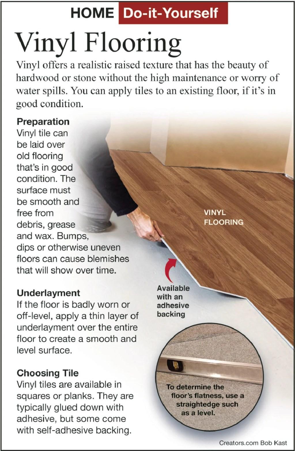 a new heavy duty commercial vinyl floor