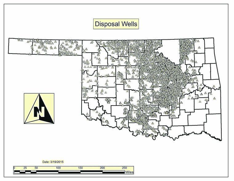 Oklahoma becomes 'an intake state' for disposal wells