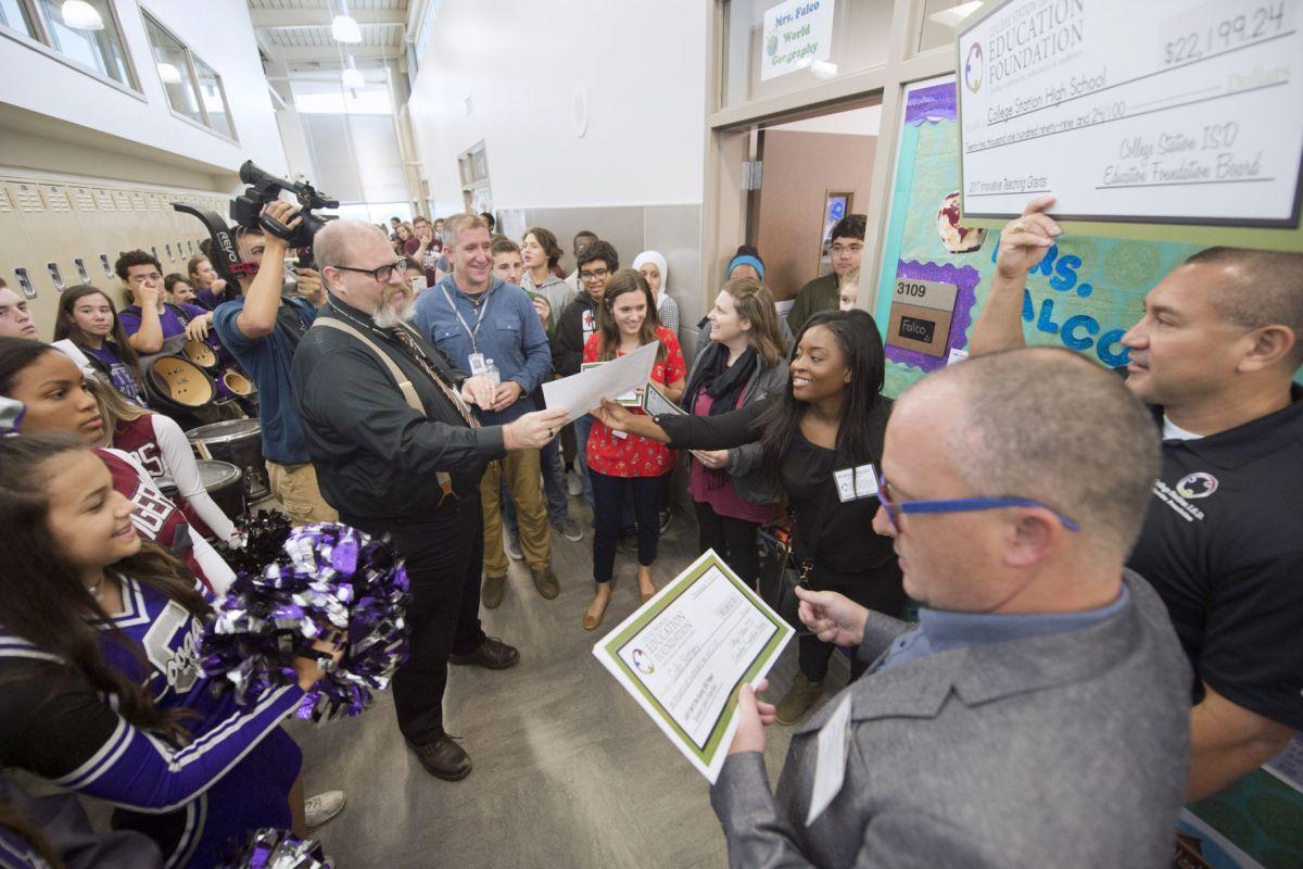 College Station Isd Education Foundation Awards Teaching