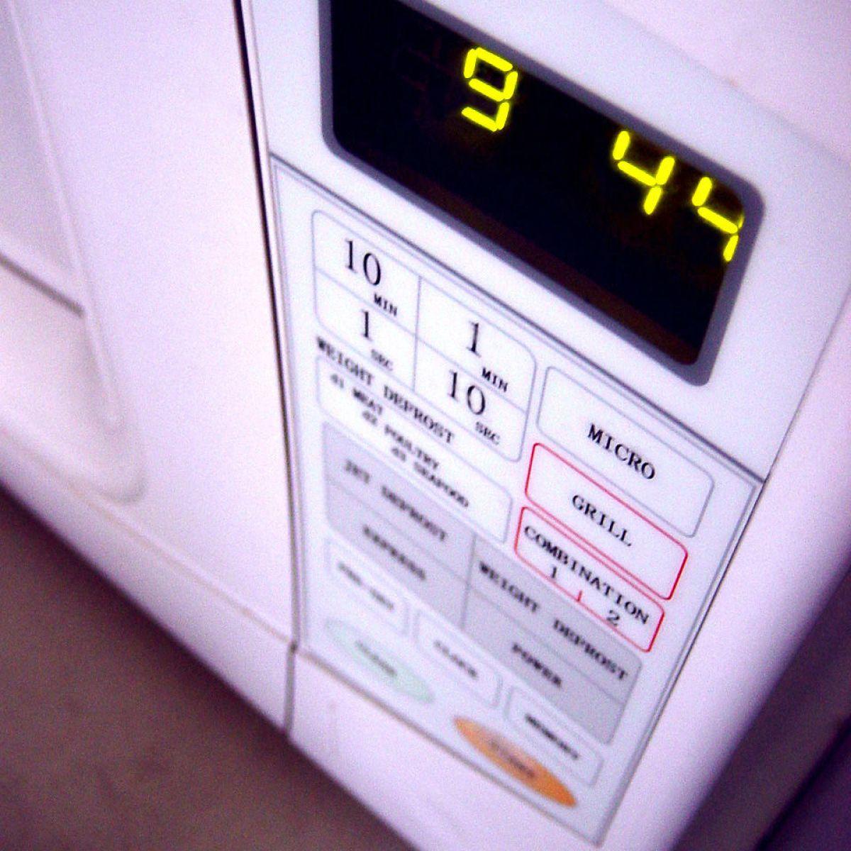 on microwave wattage