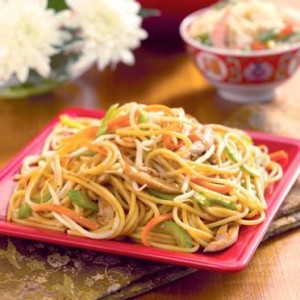 Chow mein lo mein  whats the difference in Chinese