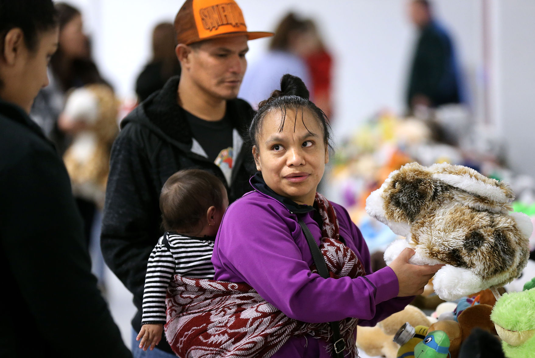 Toys For Tots Helps Families Celebrate The Holidays