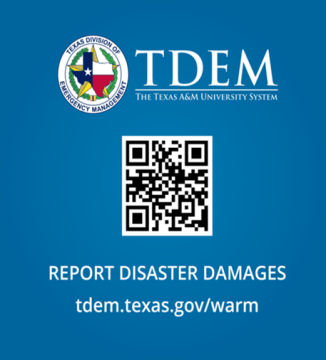 Gov. Abbott, TDEM urge Texans to submit self reporting damage survey