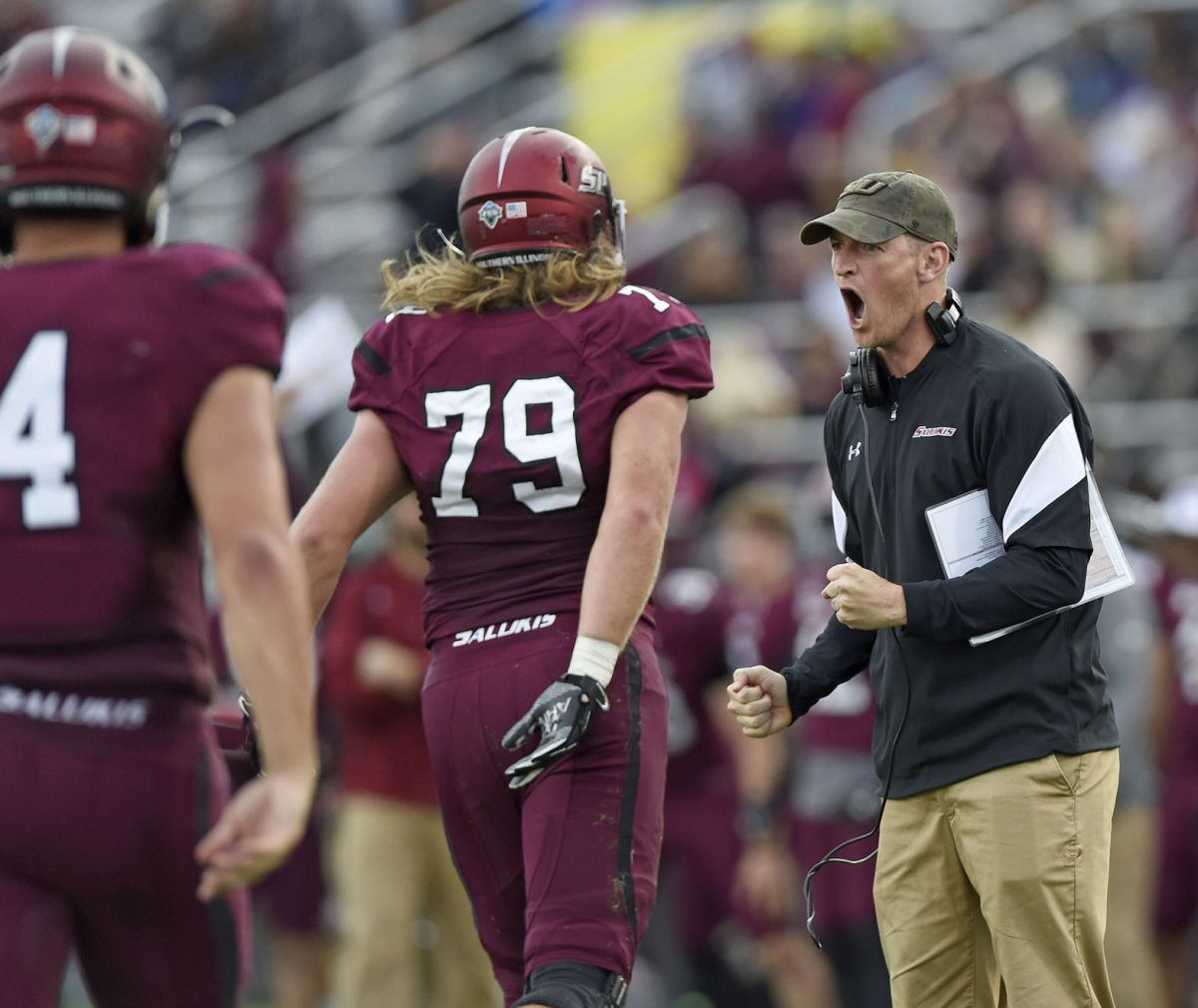 Saluki football to open with 5 straight night games