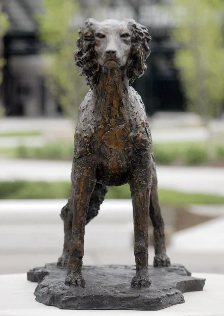 SIU unveils bronze Saluki statue   Local News   thesouthern.com