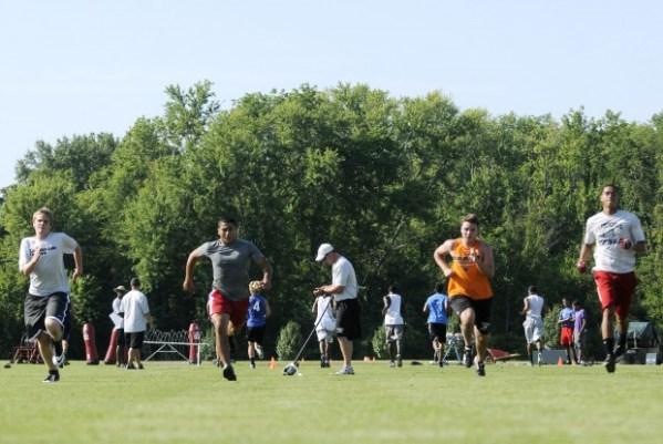 High school football practices get under way Local News