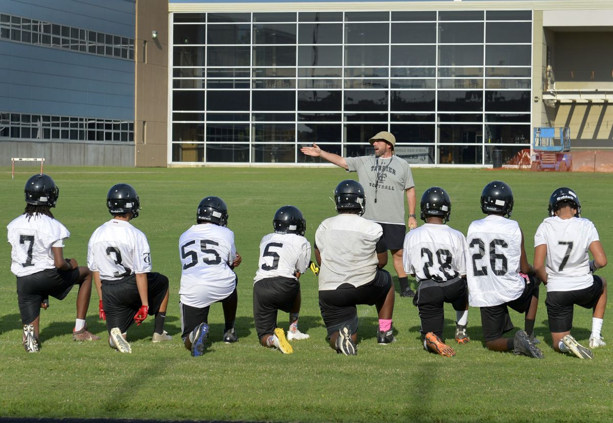 Football participation variable in Southern Illinois