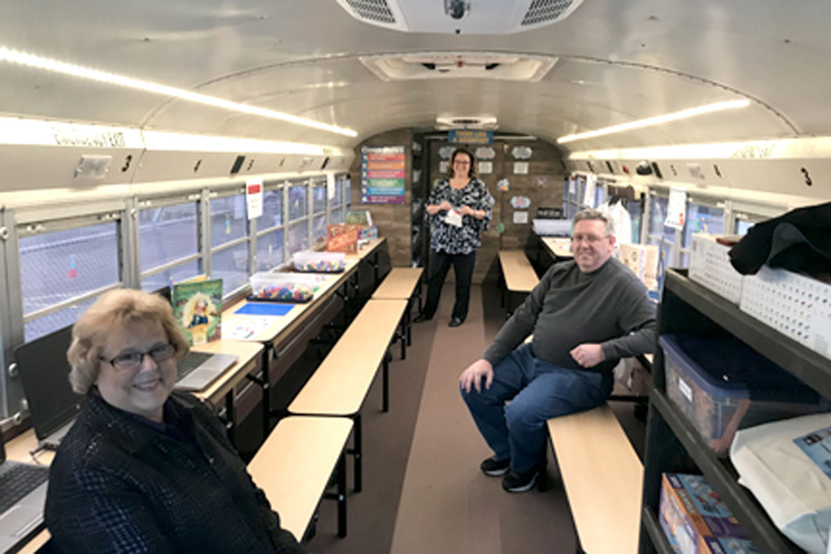 Marion County School Bus Fosters Mobile Steam Involvement