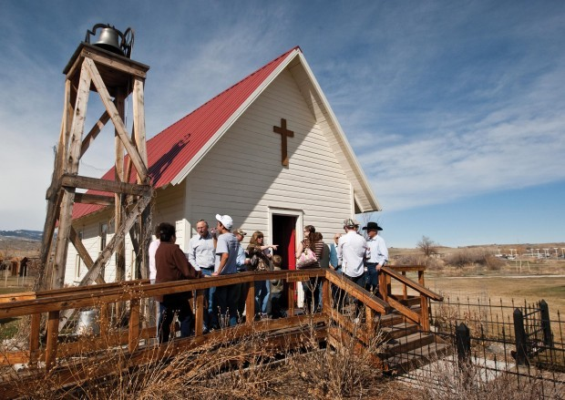 Wyoming cowboy church welcomes all comers