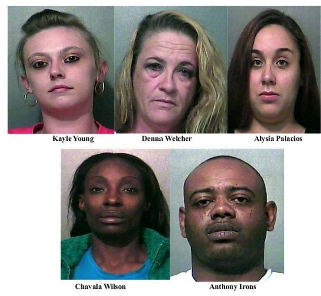 Update Thpd Prostitution Sting Nets Five