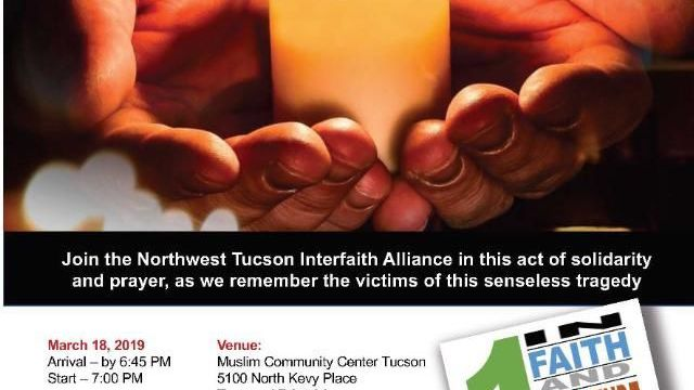 vigil in tucson tonight