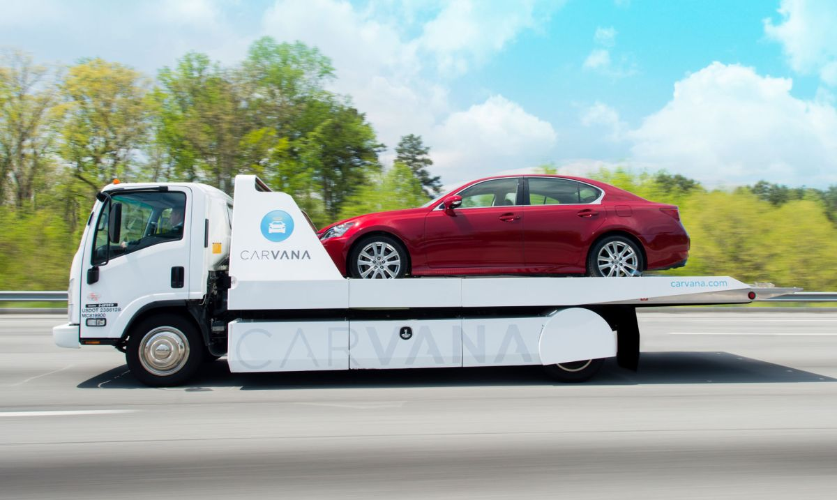 Carvana to Buy Used Cars Online and Skip the Dealership. (Image via Tucson)
