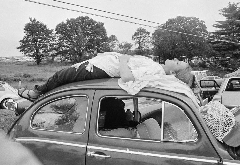 Woodstock music festival anniversary