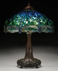 Tiffany Studios dragonfly table lamp sells for more than ...