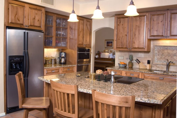Use builder or highendgrade replacement kitchen cabinets