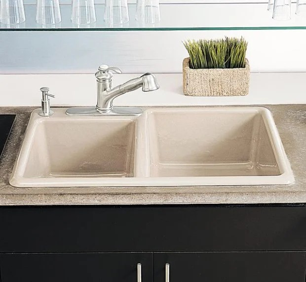 undermount vs top mount sinks
